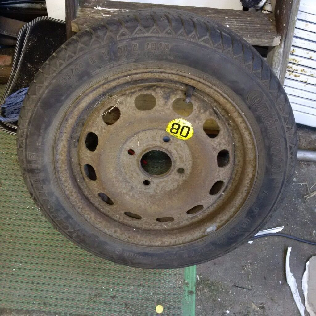 Ford Ka Spare Wheel Excellent Tread Tyre Size