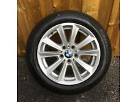 1x 17'' GENUINE BMW 5 SERIES SE 236 ALLOY WHEEL SPARE SINGLE TYRE F10 F11 F12 F13