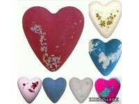 Heart Shaped Bathbombs
