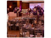 Luxury Wedding Event Decor, Free Table Plan, Wedding Stage, Flower Wall Hire,Nigerian, Ghana, Asian!