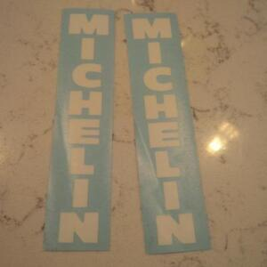 Various Decals/stickers- Michelin - Suzuki