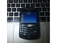 Perfect Unlocked BlackBerry Curve 8310 in Black Classic Mobile Phone + Charger + Sim Card