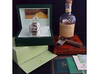 New TwoTone Black Face Rolex Daytona Comes Rolex Bagged And Boxed With Paperwork