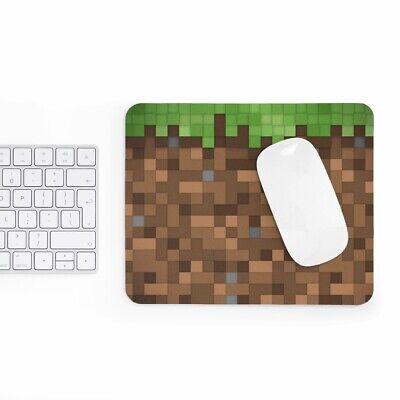 Mousepad Best Gift Idea Kids Design Minecraft Dirt Land Mouse Mat Desk Mouse Pad