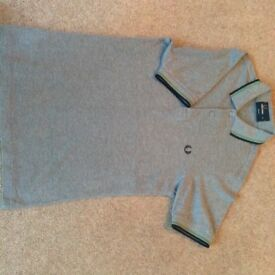 Grey Fred Perry polo tshirt