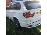 Nice white Bmw x5