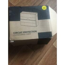 Circuit protection consumer unit