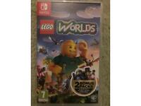 Nintendo switch game lego worlds