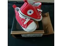 3-6 months baby Converse Unisex