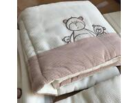 Mamas & Papas Cot Bed Set, Curtains and Pictures
