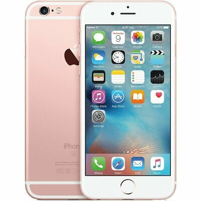 Apple iPhone 6s 64GB Rose Gold MKR62LL/A A1688 No Contract NETWORK UNLOCKED USA