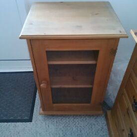 Wooden/Glass Cabinet