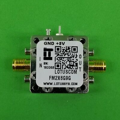 Frequency Multiplier X2 Output 6 Ghz To 9 Ghz Fm2x6g9g