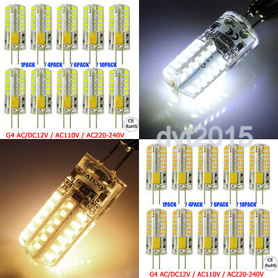G4 LED Bi-Pin Light Bulb Capsule Bulbs Halogen Lamps Equivalent 1/4/6/10Pack (Capsule Light Bulb)