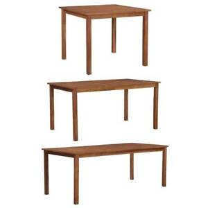 Brand new solid wood dining table at 3 size