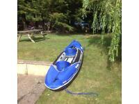 Sevylor hudson 3 man kayak + extra
