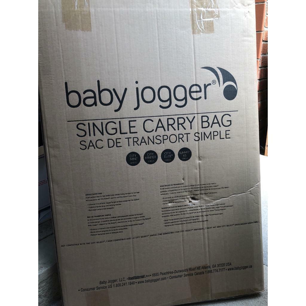 Brand New Baby Jogger Single Carry Bag Transport Bag Travel Bag In Bradley Stoke Bristol Gumtree