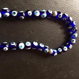 Worry beads .... all seeing eye