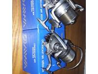 Dawa crosscast fishing reels