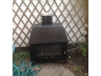 log burner stove - some TLC required