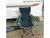 Caravan camping fishing light wieght folding chair