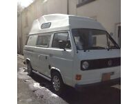 VW T25 Hightop Campervan REDUCED PRICE