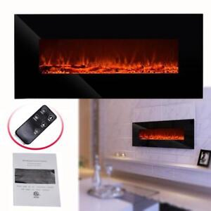 LOWEST PRICE ! WOW NEW 1500W WALL MOUNT LED FIREPLACE 50 IN WF1350 AS LOW AS $179.95 REG $499.95  LIMITED STOCK !