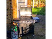 Fantastic BBQ - GAS - FirePlus 4+1 Gas Burner Grill BBQ Barbecue incl. Side Burner