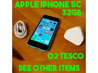 XMAS GIFT APPLE IPHONE 5C BLUE 32GB O2 TESCO NETWORK GENUINE