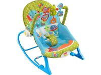 *** Fisher Price - Deluxe 'Infant-to-Toddler Rocker' Seat. Great Condition ***