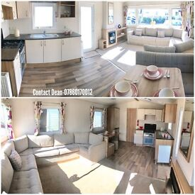 Static Caravan Holiday Home For Sale Sited On 4Star Park Ocean Edge North West SeaViews Pet Friendly