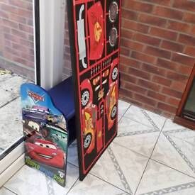Disney cars unit and canvas picture
