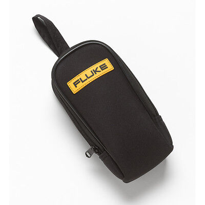 Fluke C90 Zippered Soft Carrying Case With Inside Pocket And Belt Loop.