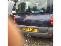 FIAT MULTIPLA 1.6 16V PETROL ENGINE 2002 BREAKING FOR SPARES AND REPAIRS