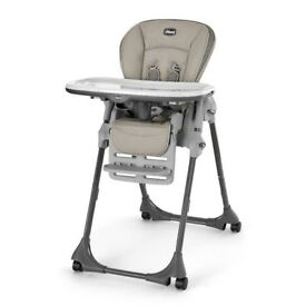 Like new Chicco polly progress high chair