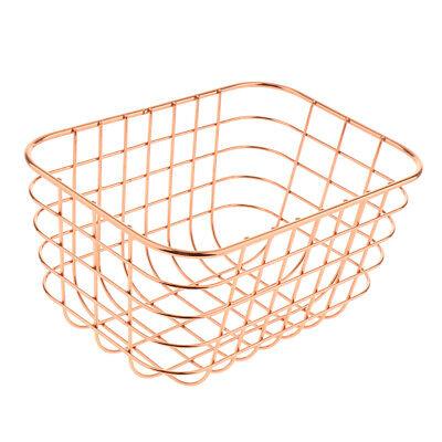 Organizer Metall Drahtgeflecht Korb Rack für Desktop Storage Küche ()