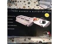 Food warmer and buffet server