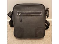Genuine Ted Baker Black Messenger Bag