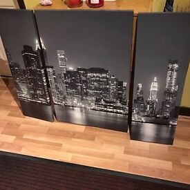 3 piece picture frame