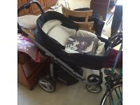 BEBECAR buggy for sale, great condition, it is what is...baby grown up ......