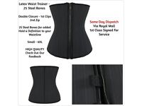 25 Steel Flexi Bone Clip & Zip Waist Trainer 6XL - This Cincher Gives The Ultimate Hold