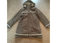 Ladies thick winter coat. Animal size 16 (fit 14/16)