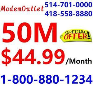 FREE Wireless AC1600 Router + VDSL modem combo - Unlimited 50M internet $44.99/month, please call 1-800-880-1234 to book