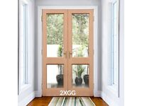 Discontinued double doors ready to be collected from our Penicuik warehouse - Prices from £78