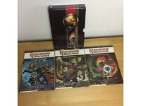 4th Edition Core Rulebook Gift Set (Dungeons & Dragons Core Rulebooks) Hardbook