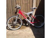 Carrera banshee mountain bike 21 inch frame