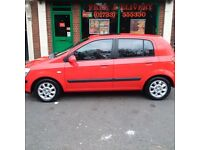 Hyundai Getz. Automatic. Low Mileage 55900. Clean In and Out. 2keys. Part service history.mot mar 17