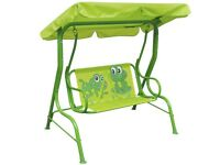 Kids Swing Seat Green-41841