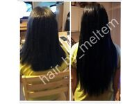 Hair extensions,nano rings, micro rings, tape, weft, braid/ weft, wig and keratin bond, hairdressing