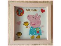 Peppa Pig Personalised Frames